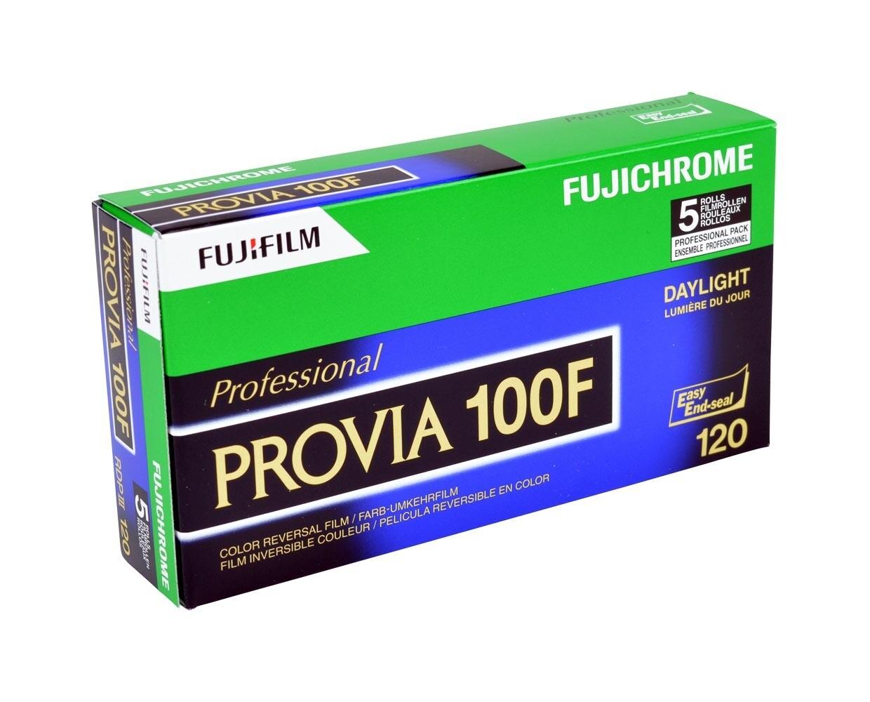 Fujifilm Fuji PROVIA 100F RDPIII 120 5-Pack (51169935) Expired 02/2022