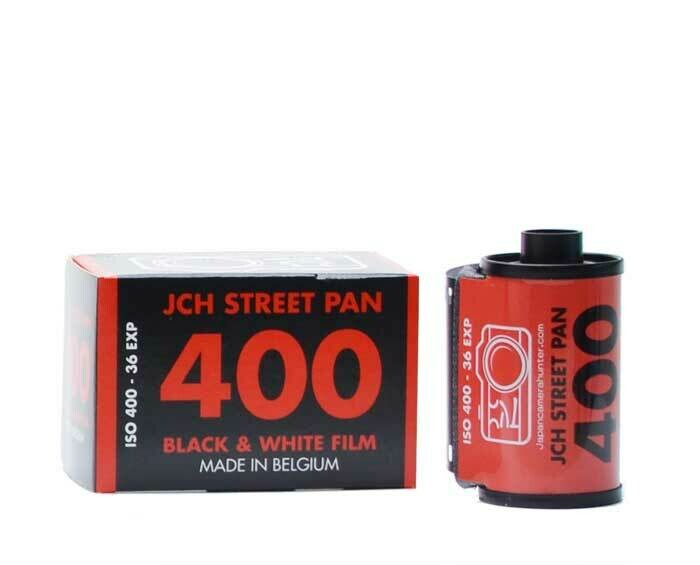 JCH StreetPan 400 Film 135/36 (Neue Emulsion) ISO 400 Photo-Film für Schwarzweiss-Papierbilder MHD 02/2021