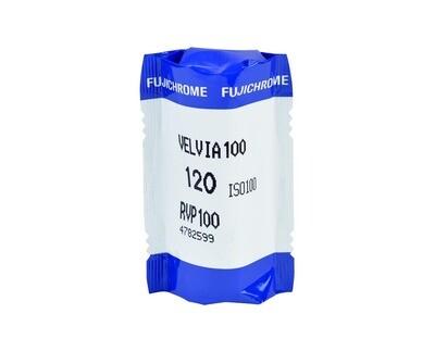 FUJIFILM VELVIA 100F Format 120 1-Pack (16326107)Expired 08/2021