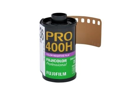 FUJIFILM Fujicolor PRO 400H Professional Color Negative Film (35mm Roll Film, 36 Exposures) expired 03/2021
