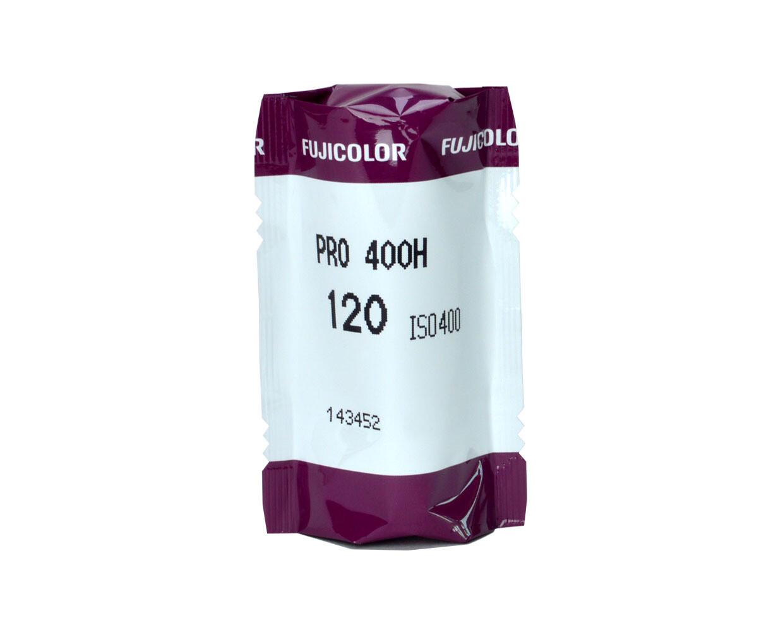 FUJIFILM Fujicolor PRO 400H Professional Color Negative Film(120 Roll Film, expired 10/2021