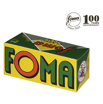 Fomapan 100 Classic retro Limited Black and White Negative Film (120 Roll Film) expired 06/2024