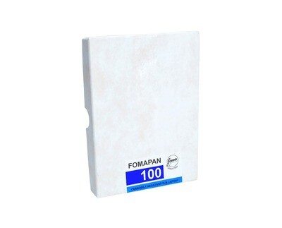 Fomapan 100 Planfilm 10x15cm  50 sheets expired 10/2021