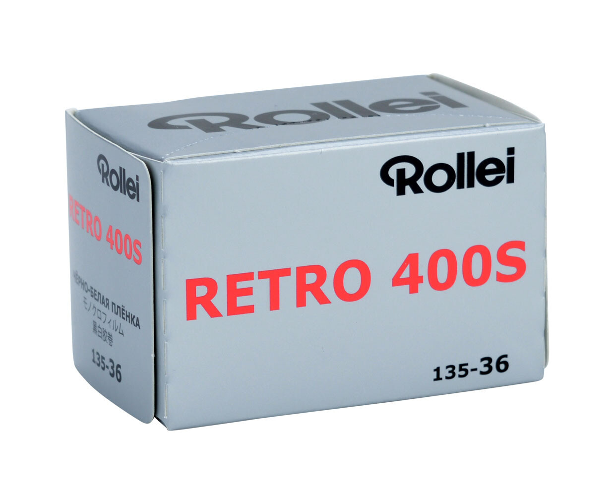 Rollei Retro 400S Back and White  Negative film format 135-36 expired 09/2023