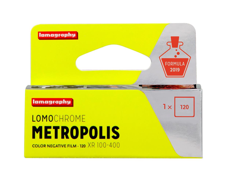 Lomography LomoChrome Metropolis 100-400 Rollfilm 120  MHD 10/2023