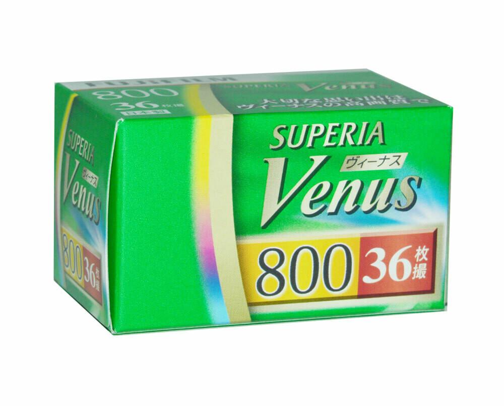 Fujifilm Superia Venus 800 135/36 Neu MHD 02/2021