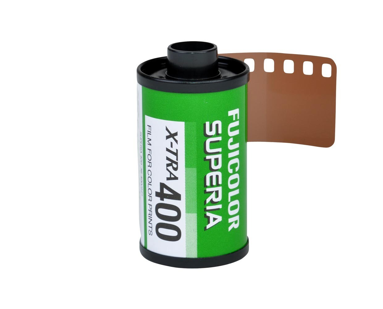 Fujifilm Fujicolor Superia X-TRA 400 Color Negative Film (35mm Roll Film, 36 Exposures) Expired 06/2023