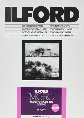 Ilford Multigrade V 1M Glossy Format 21x29.7cm 100 sheets(1179969)