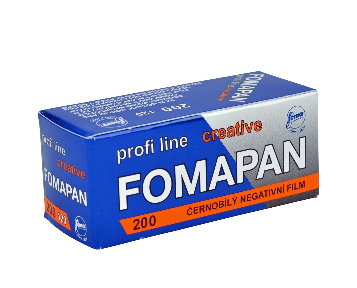 Fomapan 200 Creative Black and White Negative Film (120 Roll Film) expired 12/2023