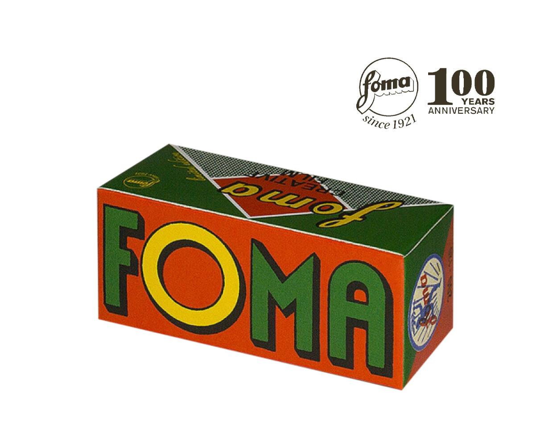 Fomapan 200 Creative Black and White Negative Film (120 Roll Film) Retroi