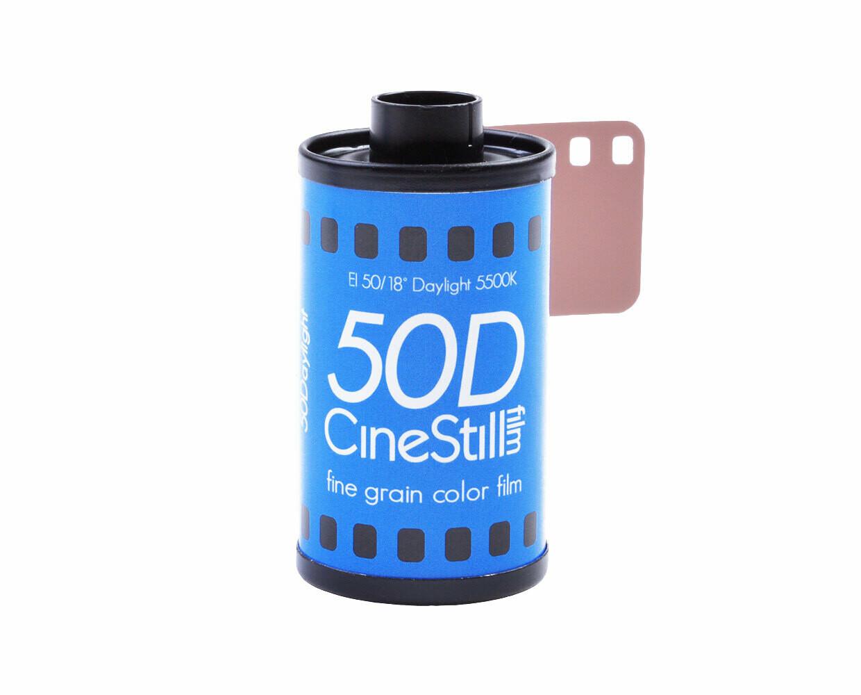 CineStill 50 Daylight Xpro C-41 Format 135-360 date 01/2022