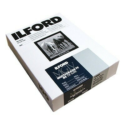 Ilford Multigrade IV RC Deluxe MGD.44M Black & White Variable Contrast Paper 10x15cm, Pearl, 100 Sheets  (1770922)