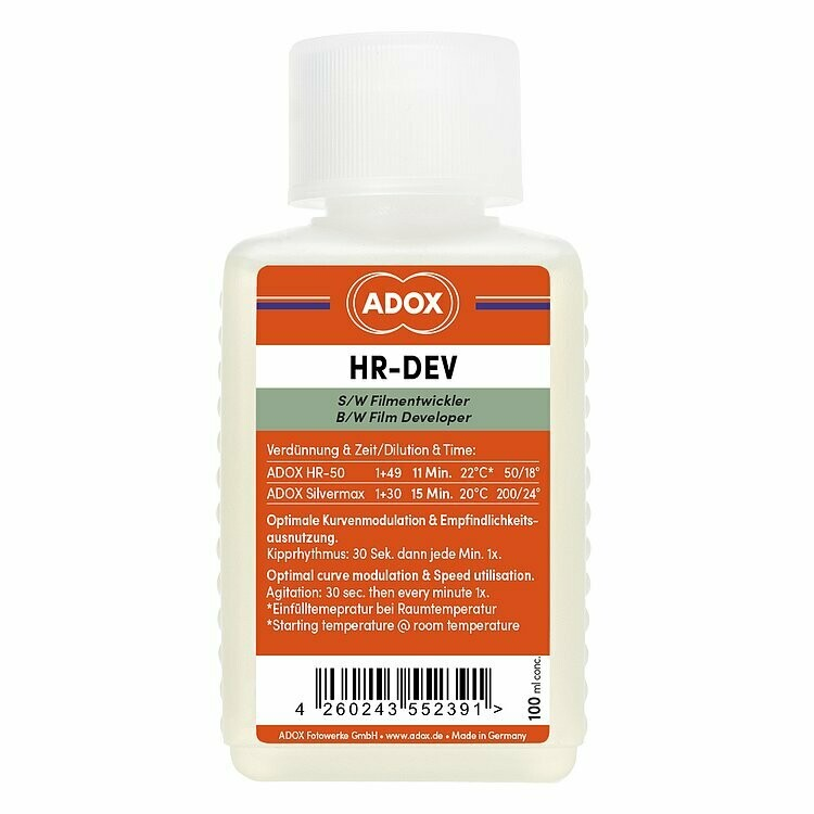 ADOX HR-DEV 100 ml concentrate - special developer for the Adox HR-50