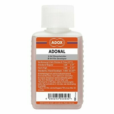 Adox ADONAL 100 ml Concentrate (Rodinal)