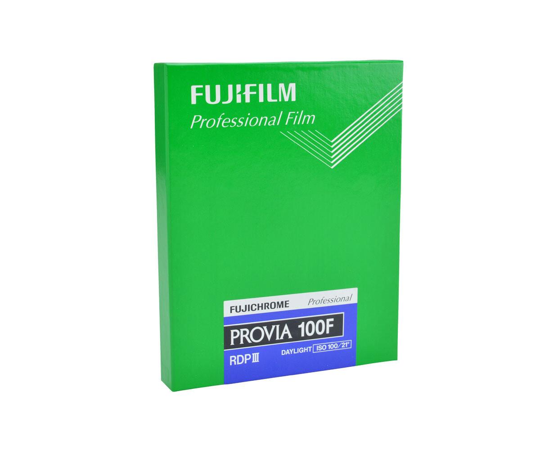 Fujifilm Provia 100F Colour Slide Film, 100 ASA, 8x10 Inch 20.3x25.4 cm 20 Sheets