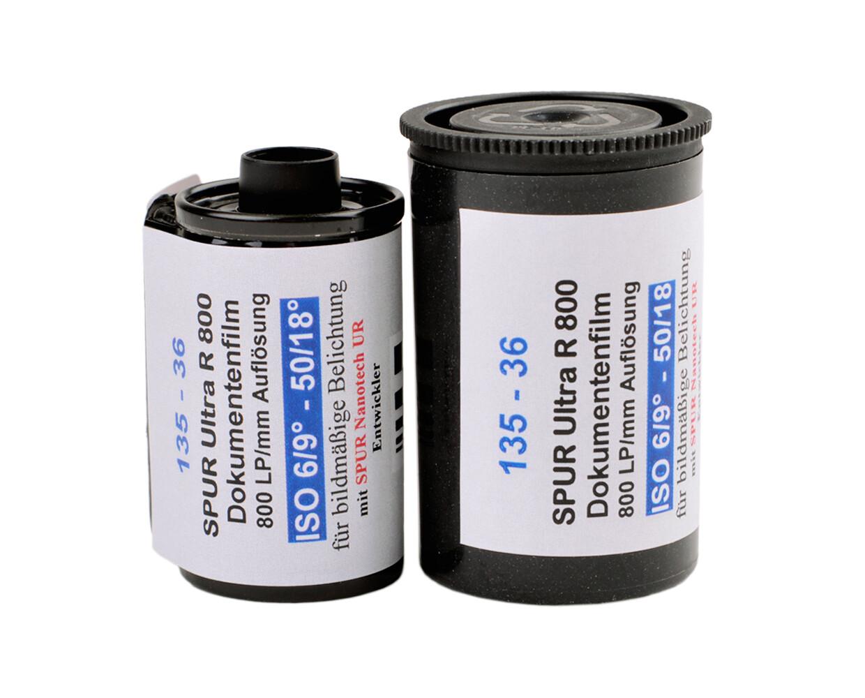 Spur Ultra R 800 135-36 Kleinbild Film MHD 10/2021