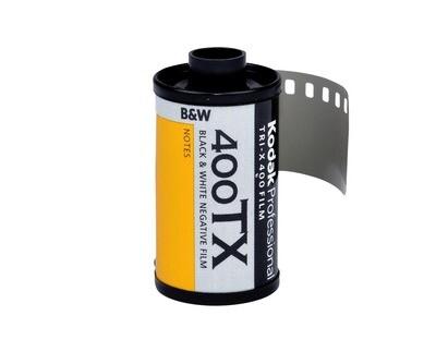 Kodak Tri-X Pan 400, TX-Pan Black & White Negative Film ISO 400, 35mm Size, 36 Exposure expired 11/2022