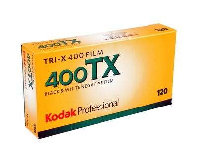Kodak Tri-X Pan 400, TX-Pan Black & White Negative Film ISO 400,  format 120mm Size,  expired 07/2022
