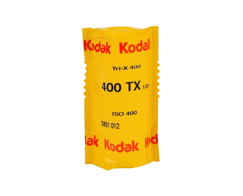 Kodak Tri-X Pan 400, TX-Pan Black & White Negative Film ISO 400, format 120 Rollfilm date 01/2022