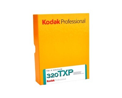 Kodak Professional Tri-X 320 Black and White Negative Film (5 x 7 Inch 12,7x17,8cm, 50Sheets) expired 12/2020