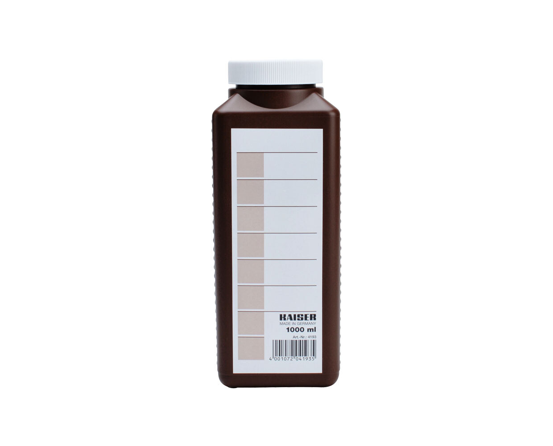 Kaiser Laborflasche braun, 1 Liter