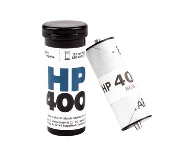Ilford HP5 Plus Black and White Negative Film  (127 Roll Film) - (available from approx. 27.04.2021)