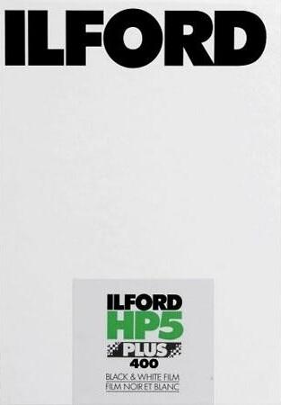 ILFORD HP5 Plus 400, 5x7inch / 12,7x17,8cm, 25 Blatt MHD 06/2021