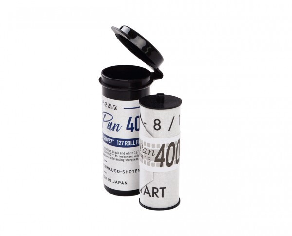 Rera Pan 400, Format 127 Rollfilm - date 08/2021 - more on the way