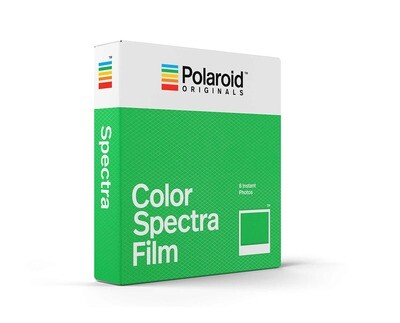 Polaroid Originals IMAGE/Spectra COLOR,  for  Polaroid  Image/Spectra Cameras - 640 ASA - 8 expositions - produced in May 2019