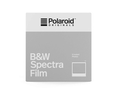 Polaroid Originals IMAGE/Spectra Black & White, for Polaroid Image/Spectra Cameras - 640 ASA - 8 expositions - Produced 006-2019