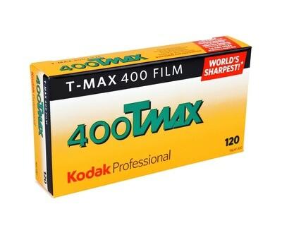 Kodak TMY 120 T-Max 400 B&W Print Film (ISO-400) - Pro Pack 5 Rolls