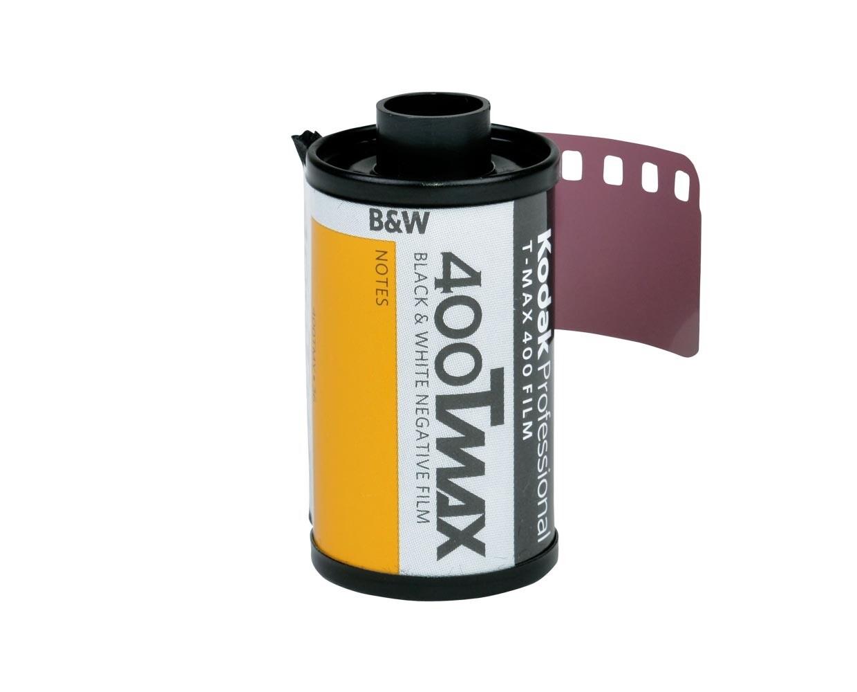 Kodak T-Max 400 TMY Professional 4053 Black & White Film ISO 400, 135-36 date 02/2022