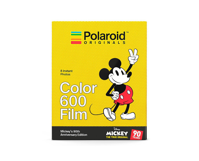 "Polaroid Color 600 ""Mickey´s 90th Anniversary Edition"" | Sofortbildfilm mit 8 Aufnahmen"