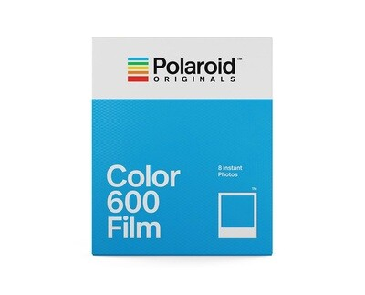Polaroid Originals Color instant film for Polaroid 600-type cameras 640 ASA, 8 sheets