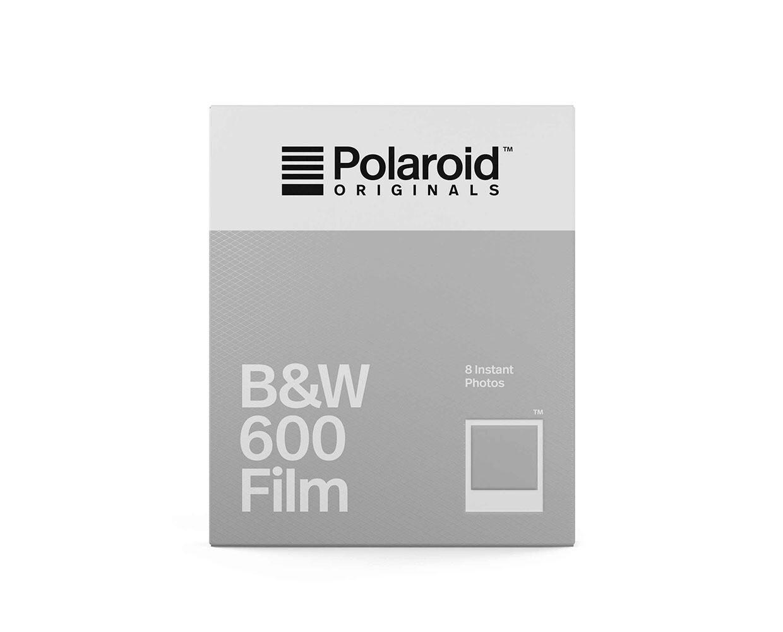 Polaroid Originals 600 B&W Schwarzweiss, 8 Aufnahmen. für Polaroid 600 und Impulse Kameras