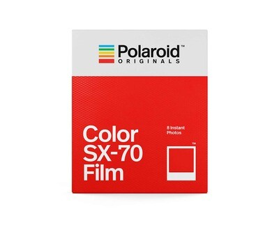 Polaroid Originals SX-70 COLOR for Polaroid SX 70 Kamera, 160 ASA, 8 sheets available from approx. 04.01.2021