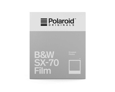 Polaroid Originals SX-70 Black and white film, 8 sheets -  - Production 09/19