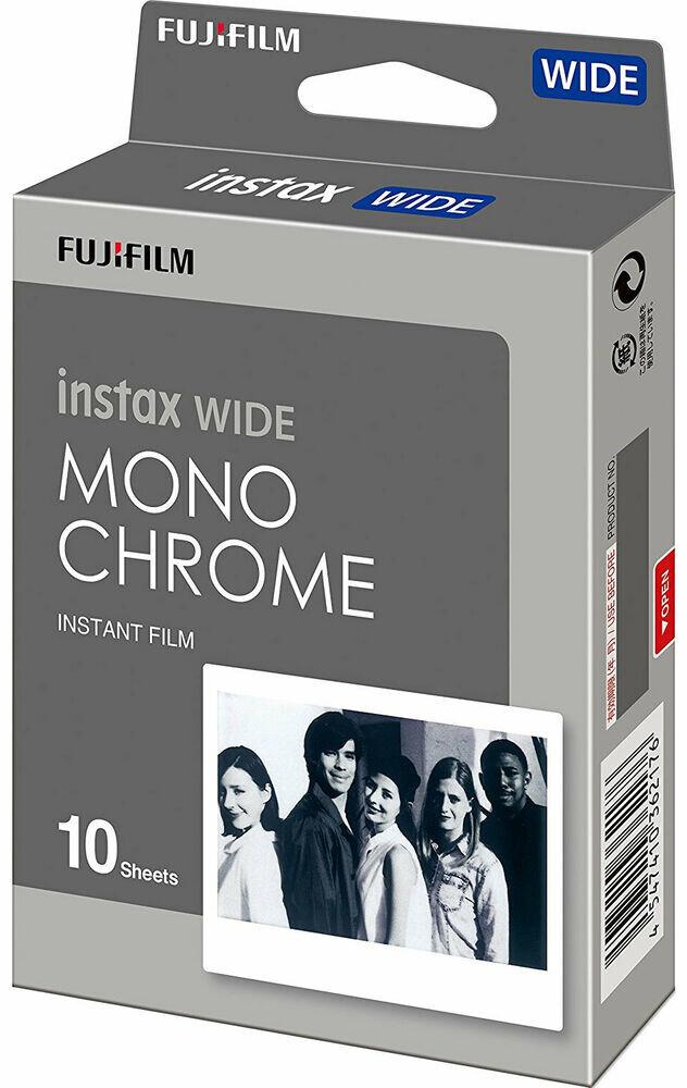 Fujifilm Instax Wide Monochrome Film Fujifilm 10 sheets expired 09/2019