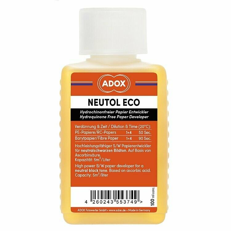 Adox Neutol Eco Paper Developer b/w Thinner 1:4 0.1Liter