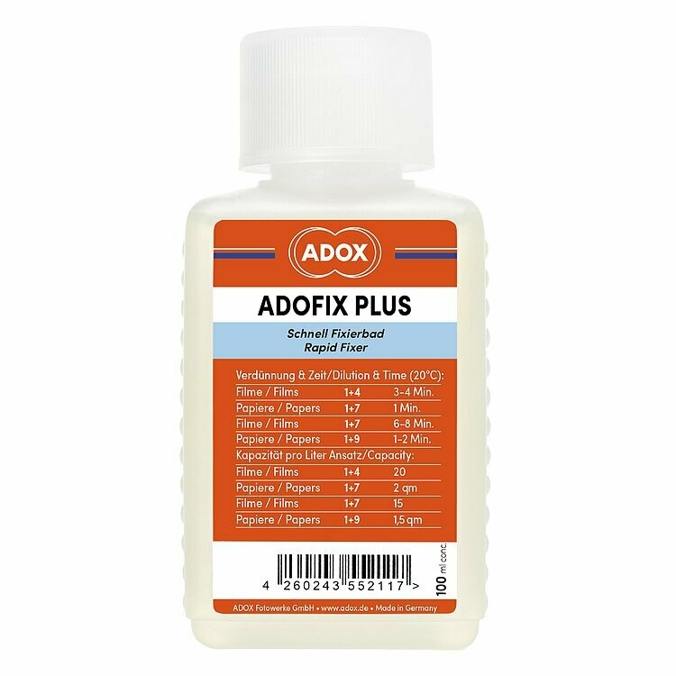 ADOX ADOFIX Plus Express Fixer BABY 100 ml Concentrate