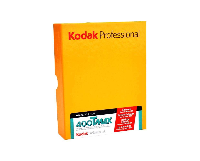 "Kodak T-Max 400 Planfilm 10,2x12,7cm (4x5"") 10 sheets"