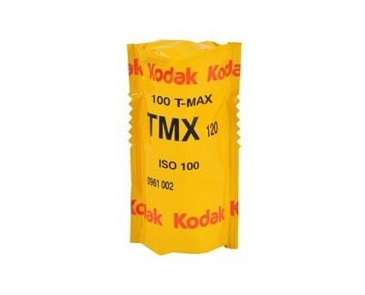 Kodak T-Max 100 Professional Black & White Negative (Print) Film (ISO-100) Format 120 - Pro Pak (1 Roll)  date 10/2021