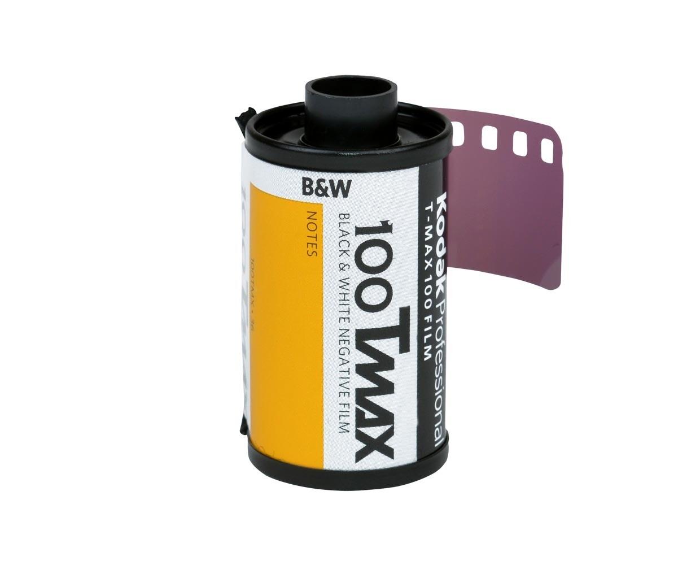 Kodak T-Max 100 Professional Black & White Negative (Print) Film (ISO-100) Format 135-36  expired 12/2021