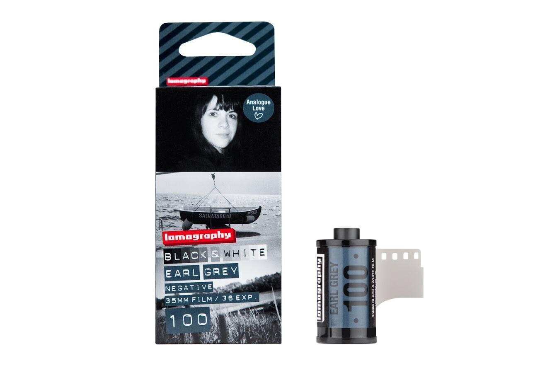 LomographyEarl Grey 100 Black and White Negative Film  format 135-36 3 rolls date 04/2020