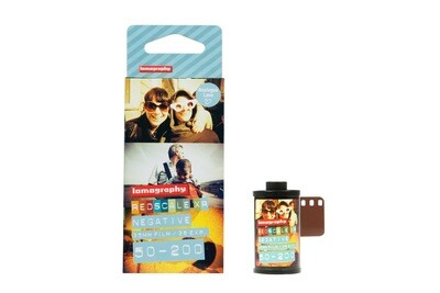 Lomography Lobster Redscale Color Negative Film 3x 135-36 expired 04/2023