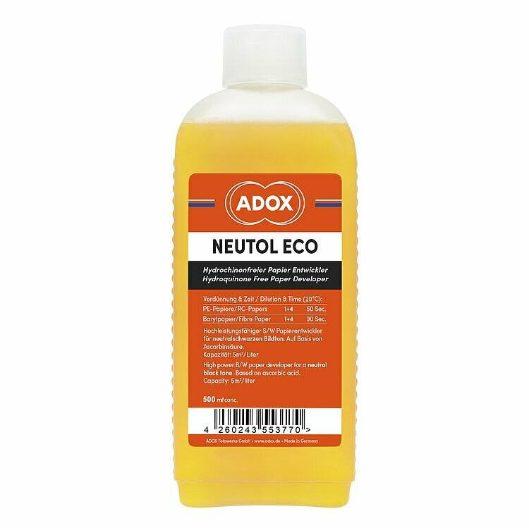 Adox Neutol Eco Paper Developer b/w Thinner 1:4 0.5Liter