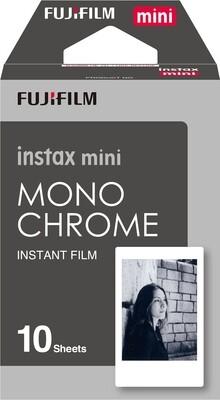 Fuji instax mini Sofortbildfilm Monochrome 10 Aufnahmen