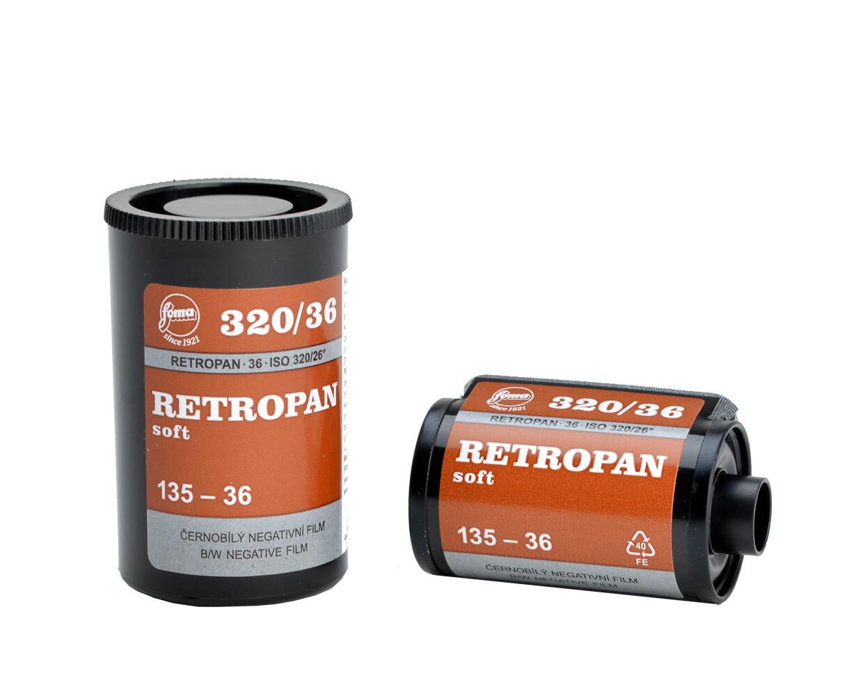 Foma Retropan 320 Soft 135-36 backorderd