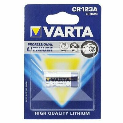 Varta Photo CR 123 A Lithium AR1596 / 6205