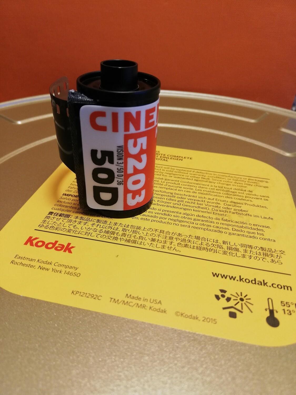 Kodak 5203 Cinema Film 50D Vision3 ~ 35mm ~ 35mm 36 exposures
